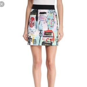Alice + Olivia x Basquiat 2016 Mini Skirt Size